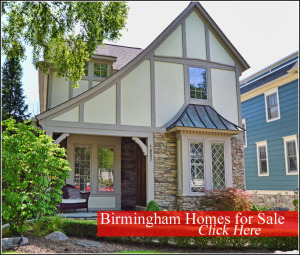 Homes for Sale in Birmingham Michigan